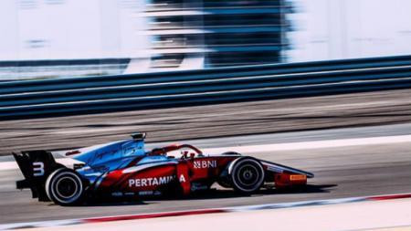 Pembalap Formula 2 Sean Gelael. - INDOSPORT