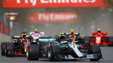 Formula 1 (F1) dan FIA resmi menunda seri balapan GP Azerbaijan 2020 lantaran tak ingin mengambil resiko ditengah pandemi virus corona (COVID-19). - INDOSPORT