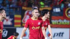 Indosport - Pemain PTT Rayong Ryuji Utomo.