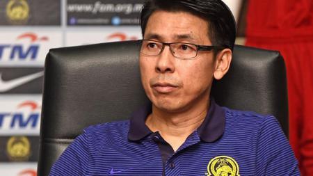 Pelatih Timnas Malaysia, Tan Cheng Hoe. - INDOSPORT