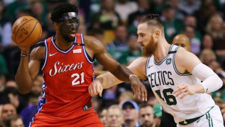 Boston Celtics vs Philadelphia 76ers. - INDOSPORT