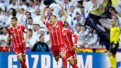 Indosport - Selebrasi gol Joshua Kimmich