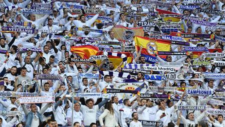 Para pendukung Real Madrid - INDOSPORT