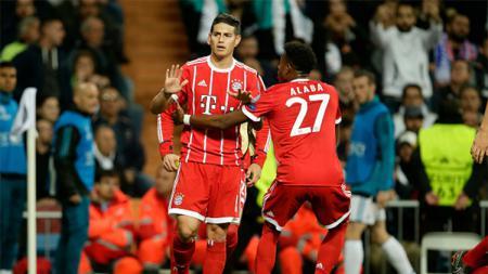 James Rodriguez memilih diam saat mencetak gol - INDOSPORT