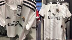 Indosport - Jersey Bocoran Real Madrid 2018/19.
