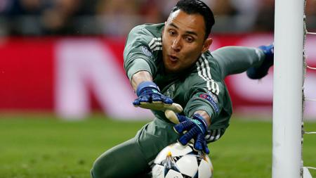 Keylor Navas, kiper Real Madrid. - INDOSPORT