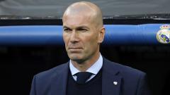 Indosport - Pelatih Real Madrid, Zinedine Zidane, tak lagi diizinkan berbicara terlalu banyak ke media.
