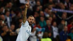 Indosport - Karim Benzema, striker Real Madrid.