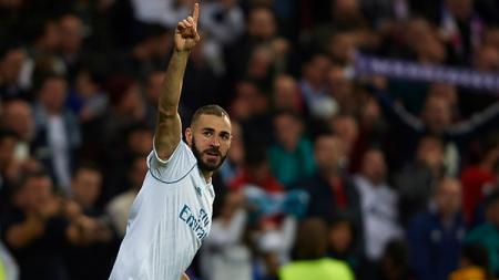 Karim Benzema, striker Real Madrid. - INDOSPORT