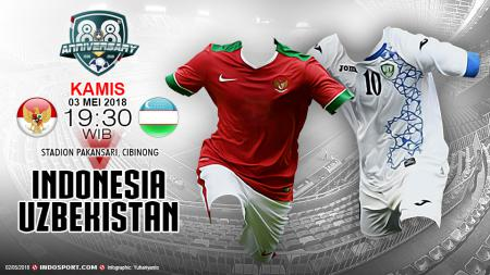 Indonesia U-23 vs Uzbekistan U-23 - INDOSPORT