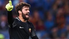 Indosport - Kiper AS Roma, Alisson