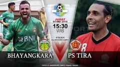 Indosport - Prediksi Bhayangkara FC vs PS Tira