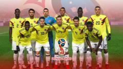 Indosport - Skuat Timnas Kolombia.