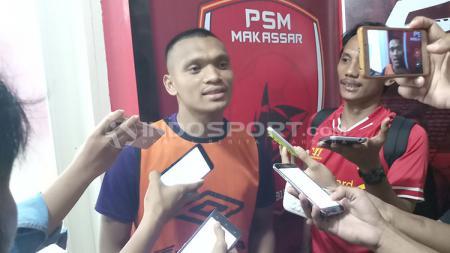 Ferdinand Sinaga, striker PSM Makassar. - INDOSPORT