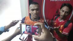 Indosport - Ferdinand Sinaga, striker PSM Makassar.