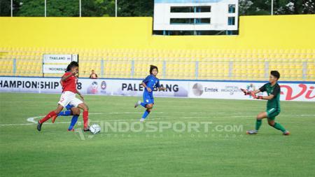 Timnas putri Indonesia vs Timnas putri Thailand - INDOSPORT
