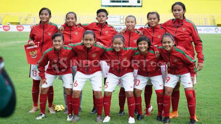 Timnas putri Indonesia  akan menghadapi Vietnam di laga perdana SEA Games 2019, Jumat (29/11/19) - INDOSPORT