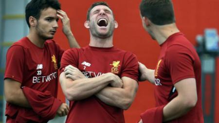 Gelandang Liverpool, James Milner - INDOSPORT