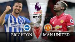 Indosport - Brighton vs Manchester United.