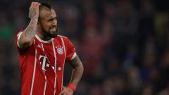 Indosport - Arturo Vidal, gelandang serang Bayern Munchen.