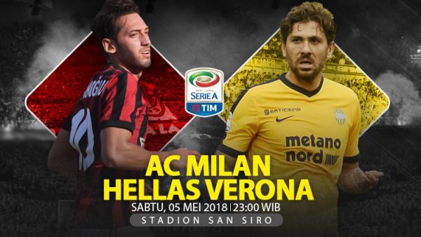 Image result for AC Milan vs Hellas Verona 05 mei