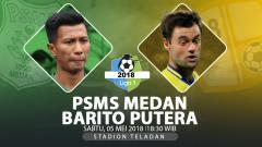 Indosport - Prediksi PSMS Medan vs Barito Putera.