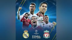Indosport - Real Madrid vs Liverpool.