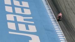 Indosport - Marc Marquez di Sirkuit Jerez.