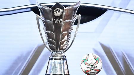 Trofi baru Piala Asia. - INDOSPORT