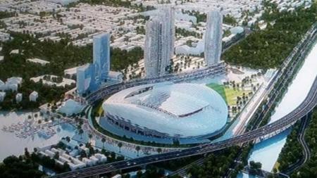 Desain baru stadion BMW - INDOSPORT