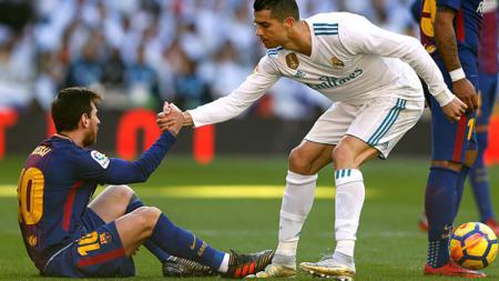 Lionel Messi sudah menjadi ikon tersendiri bagi Barcelona hingga saat ini. Apa jadinya jika sang bintang malah bergabung dengan rival LaLiga, Real Madrid? - INDOSPORT