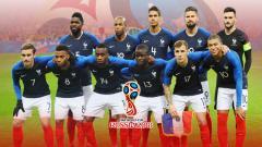Indosport - Skuat Timnas Prancis.