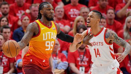 Bintang Houston Rockets, Gerald Green dikabarkan bakal absen selama NBA musim 2019/20 akibat cedera patah kaki yang dialaminya. - INDOSPORT