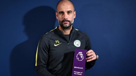 Pelatih Man City, Pep Guardiola. - INDOSPORT