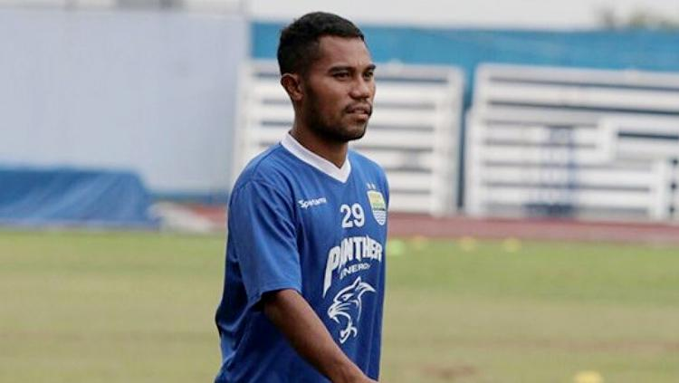 Bek kiri baru Persib Bandung, Ardi Idrus. Copyright: Tribun Jabar