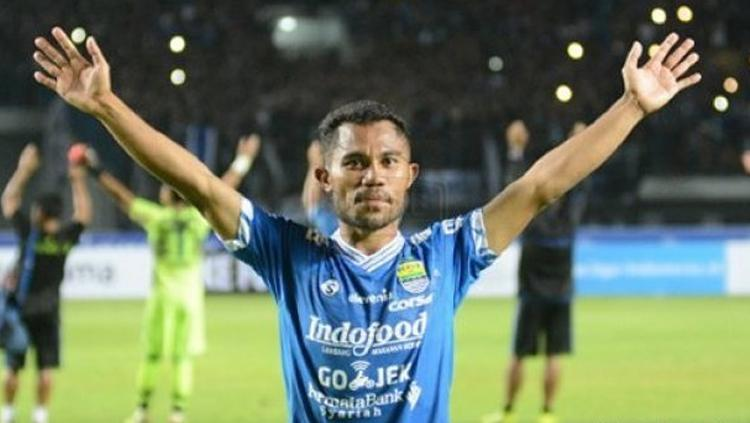 Bek kiri baru Persib Bandung, Ardi Idrus. Copyright: Wartakota