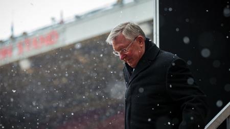 Sir Alex Ferguson, mantan pelatih Manchester United. - INDOSPORT