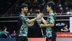 Indosport - Usai dikalahkan pasangan non-unggulan asal Indonesia di turnamen Denmark Open, wakil Denmark ini langsung ngamuk.