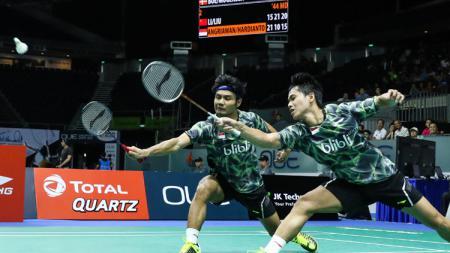 Ganda putra Indonesia, Berry Angriawan/Hardianto. - INDOSPORT