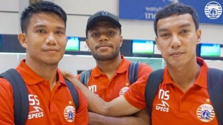 Sandi Sute, Yan Nasadit dan Novri Setiawan. - INDOSPORT