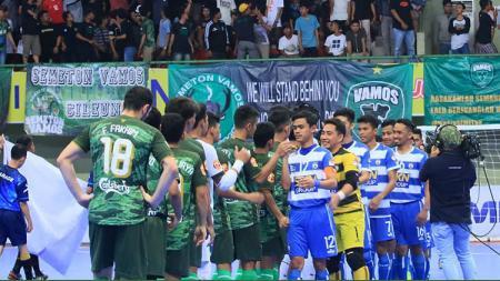 Vamos Mataram 3x0 SKN FC Kebumen sebelum pertandingan dimulai. - INDOSPORT