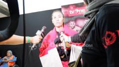 Indosport - Juara Mixed Martial Arts, Linda Darrow.