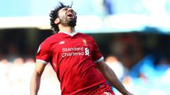 Indosport - Reaksi Mohamed Salah