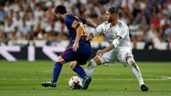 Indosport - Sergio Ramos vs Lionel Messi
