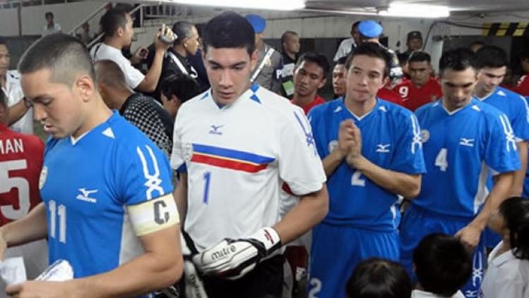 Neil Etheridge saat akan menghadapi Timnas Indonesia. Copyright: Istimewa