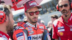 Indosport - Pembalap Ducati, Andrea Dovizioso ternyata memiliki helm balap terbaru yang memiliki sentuhan anime lawas asal Jepang yakni, Saint Seiya.
