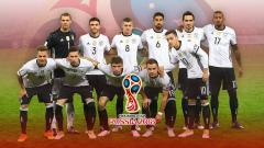 Indosport - Timnas Football Jerman PD 2018.