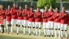Indosport - Timnas Wanita U-16 di Piala AFF