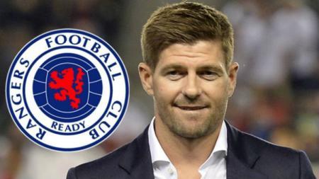 Tim sepak bola asuhan Steven Gerrard, Glasgow Rangers FC, akan menghadapi Sporting Braga di babak 32 besar Liga Europa 2019-2020. - INDOSPORT