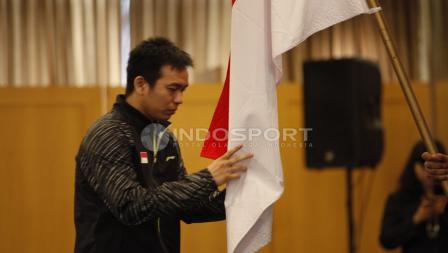 Kapten tim Thomas Cup Indonesia, Hendra Setiawan.